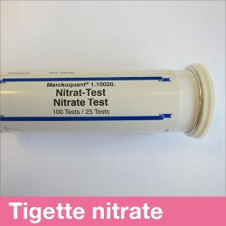 Tigettes test nitrates