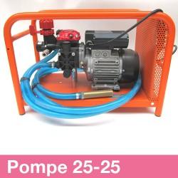 Pompe 25BP prête à l'emploi