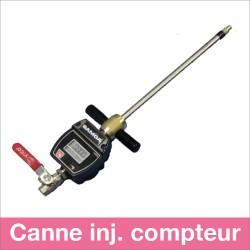 Canne d'injection 12mm (vanne et compteur de passage)
