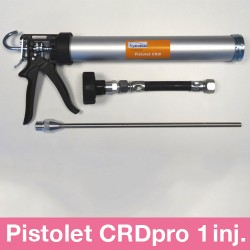 Pistolet CRD PRO 1 injecteur inox au choix