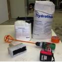 Enduits et mortiers hydrofuges